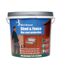 Bird Brand Shed & Fence OCP (Feature) Colours 5Ltr Various Colours