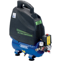 DRAPER 6L OIL-FREE AIR COMPRESSOR (1.1KW)