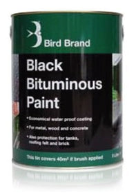 Bird Brand Bituminous Paint Black