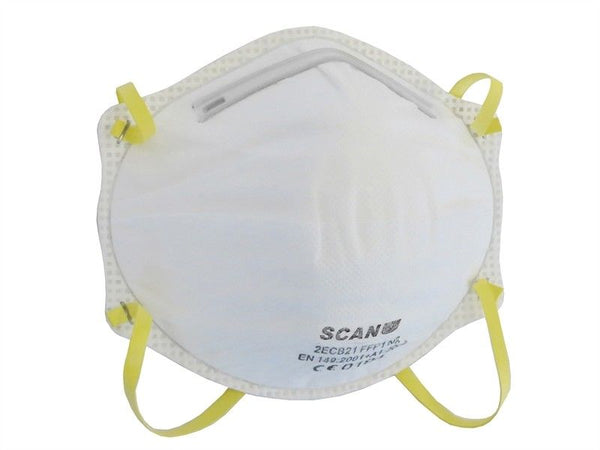 SCAPPEP1M Moulded Disposable Mask FFP1 (Pack of 3)