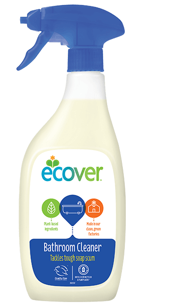 Ecover Bathroom Cleaner 500ml x2 FREE POSTAGE