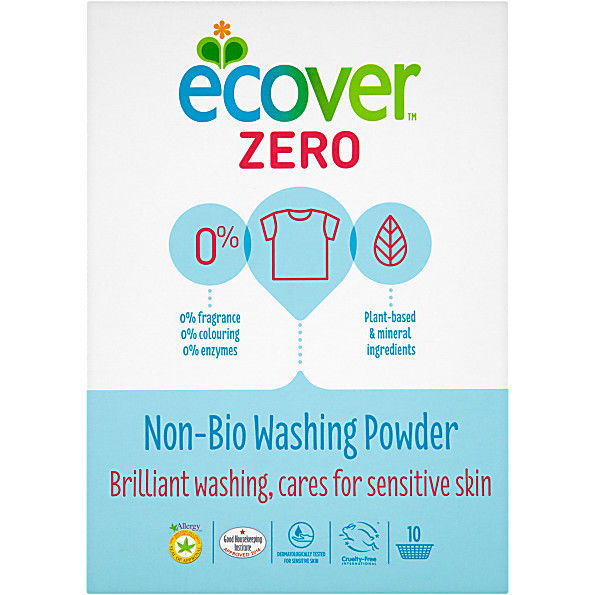 Ecover NON BIO Zero Washing Powder FREE POSTAGE  x2 boxes