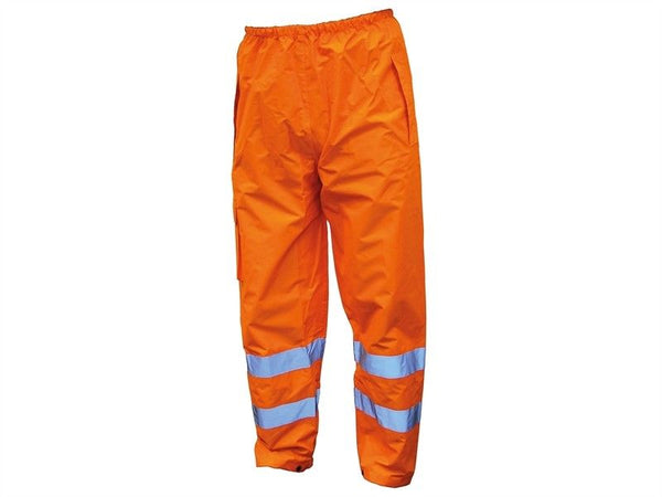 SCAWWHVMTMO Hi-Vis Motorway Trouser Orange