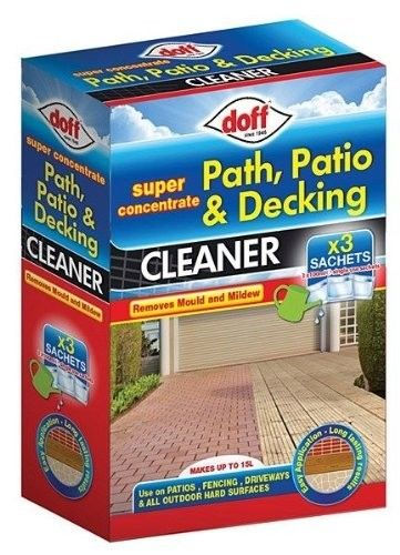 Doff Path, Patio and Decking Cleaner 3x 100ml