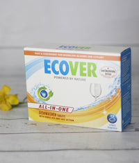 Ecover All in one Dishwasher Tablets x25 FREE POSTAGE  x2 boxes