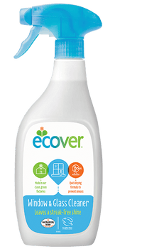 Ecover Window and Glass 500ml x2 FREE POSTAGE