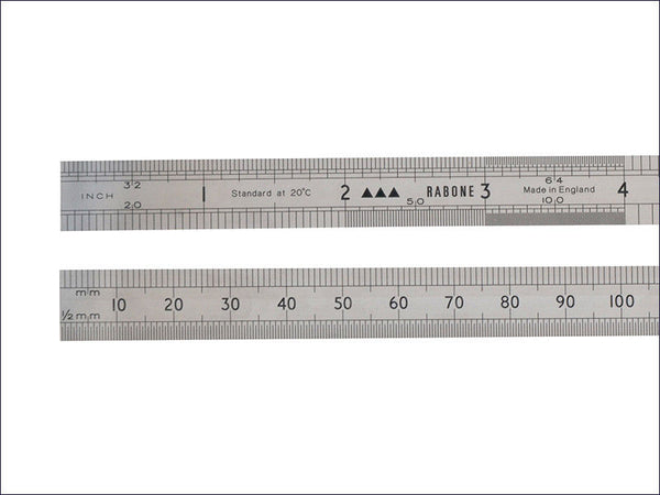 STA035432 64FR Rustless Rule 150mm / 6in