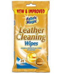 Fabric Magic Leather Wipes