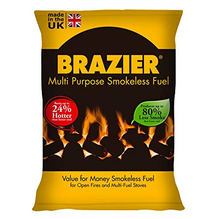 BRAZIER® Smokeless Coal 20Kg X 10 Bags INSTORE ONLY