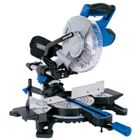 DRAPER 210MM SLIDING COMPOUND MITRE SAW WITH LASER CUTTING GUIDE (1500W)