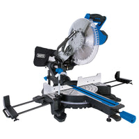 DRAPER 255MM SLIDING COMPOUND MITRE SAW WITH LASER CUTTING GUIDE (2000W)