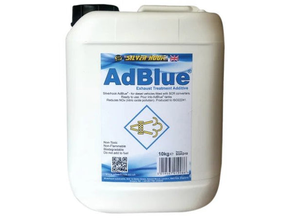 SILVERHOOK AdBlue® Diesel Exhaust Treatment Additive 10kg D/ISGAD10 INSTORE ONLY