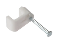 Cable Clips Flat White