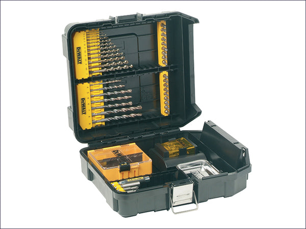 DEWALT Mini MAC Masonry & Metal Drilling Kit Set 63 Piece DEWDT9281QZ DT9281