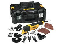 Dewalt DWE315KT Multi-Tool Quick Change Kit & TSTAK 300W 240V