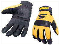 DEWALT Synthetic Padded Leather Palm Gloves DEWPERFORM2