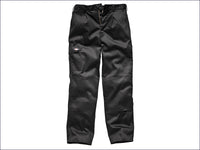 DICKIES  Redhawk Cargo Trouser Black Waist 34in Leg 31in DIC88434RB