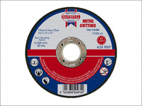 FAITHFULL Metal Cut Off Disc 115 x 3.2 x 22mm FAI1153M