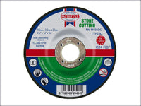 FAITHFULL Depressed Centre Stone Cut Off Disc 115 x 3.2 x 22mm FAI1153SDC