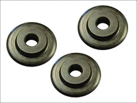 Faithfull Pipe Cutter Replacement Wheels (Pack of 3) FAIPCW642