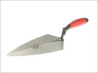 Faithfull Philadelphia Pattern Solid Forged Brick Trowel Soft-Grip Handle 11in FAISGBTFP11