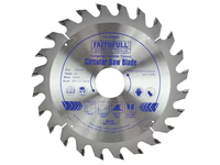FAITHFULL TCT Circular Saw Blades VARIOUS