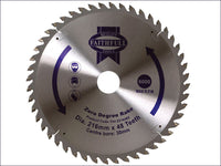 Faithfull Circular Saw Blade 216 x 30mm x 48T Zero Degree FAIZ21648Z