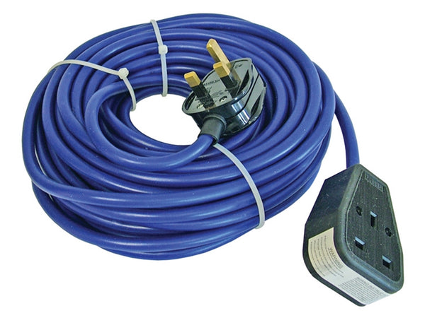 FAITHFULL Trailing Lead 240 Volt 13 Amp 1.5mm Cable 14 Metre FPPTL14M