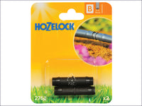 Hozelock Straight Connector 13mm (2 Pack) HOZ2768