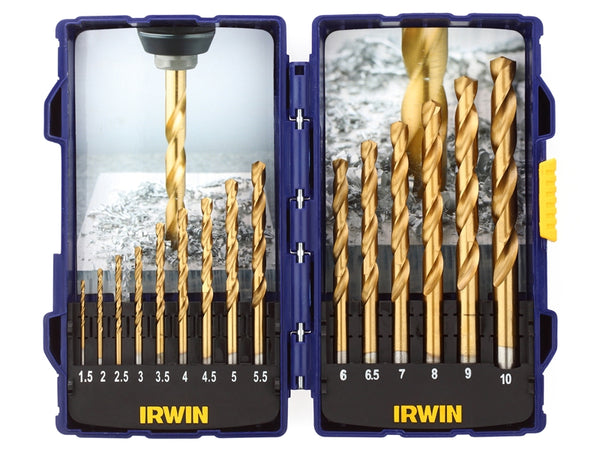 IRW10503991 HSS TiN Pro Drill Set 15 Piece