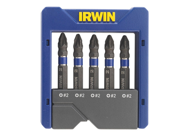 IRW1923435 Impact Screwdriver Pocket Bit Set of 5 Pozi