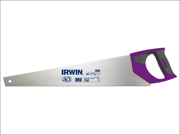 IRWIN JAK990UHP550 990UHP Fine Handsaw Soft-Grip 550mm (22in) 9tpi