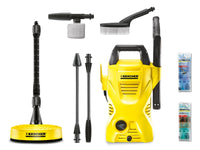 Karcher K2 Compact Car & Home Pressure Washer 110 Bar 240V