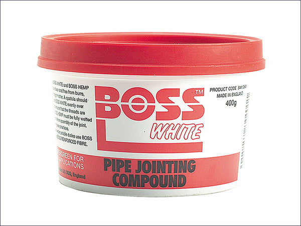 BSS Boss White Tub 400g MISBW
