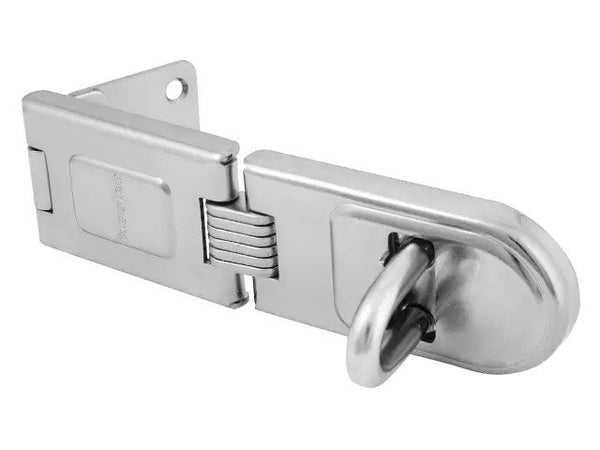 MASTER LOCK Wrought Steel Single Hinged Hasp 160mm MLK720