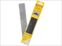 MONUMENT TOOLS Abrasive Clean Up Strips (Pack of 10) MON3024 3024O