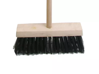 FAITHFULL FAIBRPVC13H Broom PVC 325mm (13 in) Head complete with Handle IN STORE ONLY
