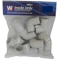 32MM 90 DEGREE SPIGOT ELBOW PACK