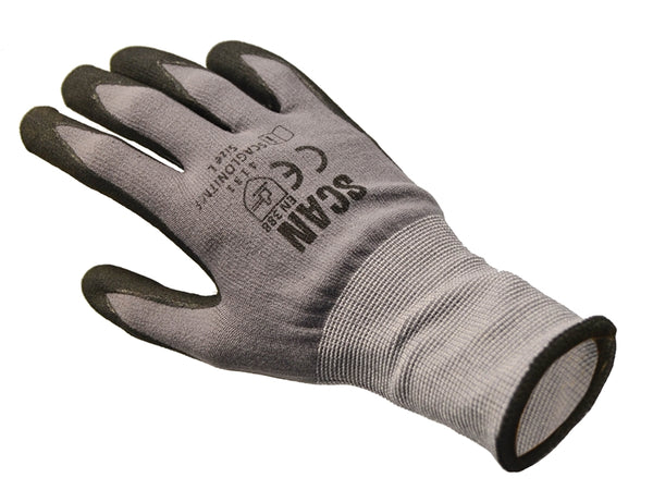 SCAN Breathable Microfoam Nitrile Gloves Size 9 (L) SCAGLONITMF