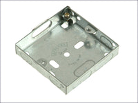SMJ Metal Box 1 Gang 16mm Depth - Loose SMJMBB16S