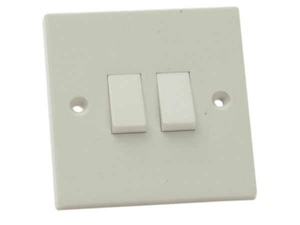 Light Switch 2 Gang 2 Way SMJW22LSC