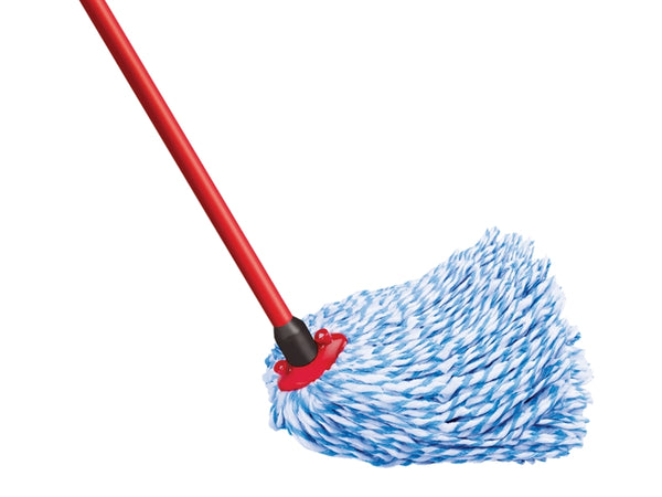SuperMocio Microfibre & Cotton Mop Head & Handle VIL126575
