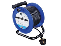 MASTERPLUG MSTLDCT30134 Heavy-Duty Cable Reel 240V 13A 4-Socket Thermal Cut-Out 30m