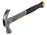 STANLEY STA051309 Curved Claw Hammer Fibreglass Shaft 450g (16oz)
