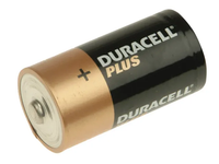 DURACELL DURCK4P Plus CK4P Alkaline Batteries (Pack 4)