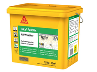 EVERBUILD EVBFFIXST15 Sika® FastFix All Weather Stone 15kg IN STORE ONLY