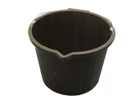 FAITHFULL FAI3GBUCKET 3 Gallon 14 Litre Bucket - Black
