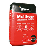 HANSON Multicem Cement 25Kg bag INSTORE ONLY