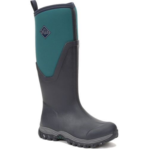 MUCK BOOT Womens Arctic Sport Tall Navy/Spruce