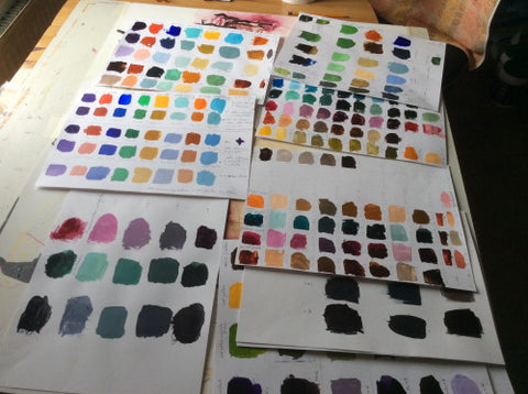 documenting color schemes